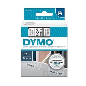 "⚜️DYMO D1 Label Maker Tape, 1/2""W, Black On White!"